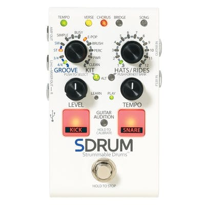Guitar Synth Pedal >> Digitech Sdrum Drum Machine Guitar Pedal Andertons Music Co