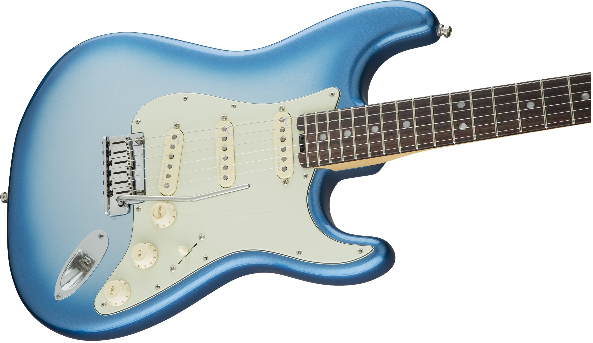 Fender American Elite Strat RW in Sky Burst Metallic - Andertons ...