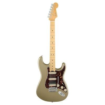 Fender American Elite Strat in Champagne Maple Board