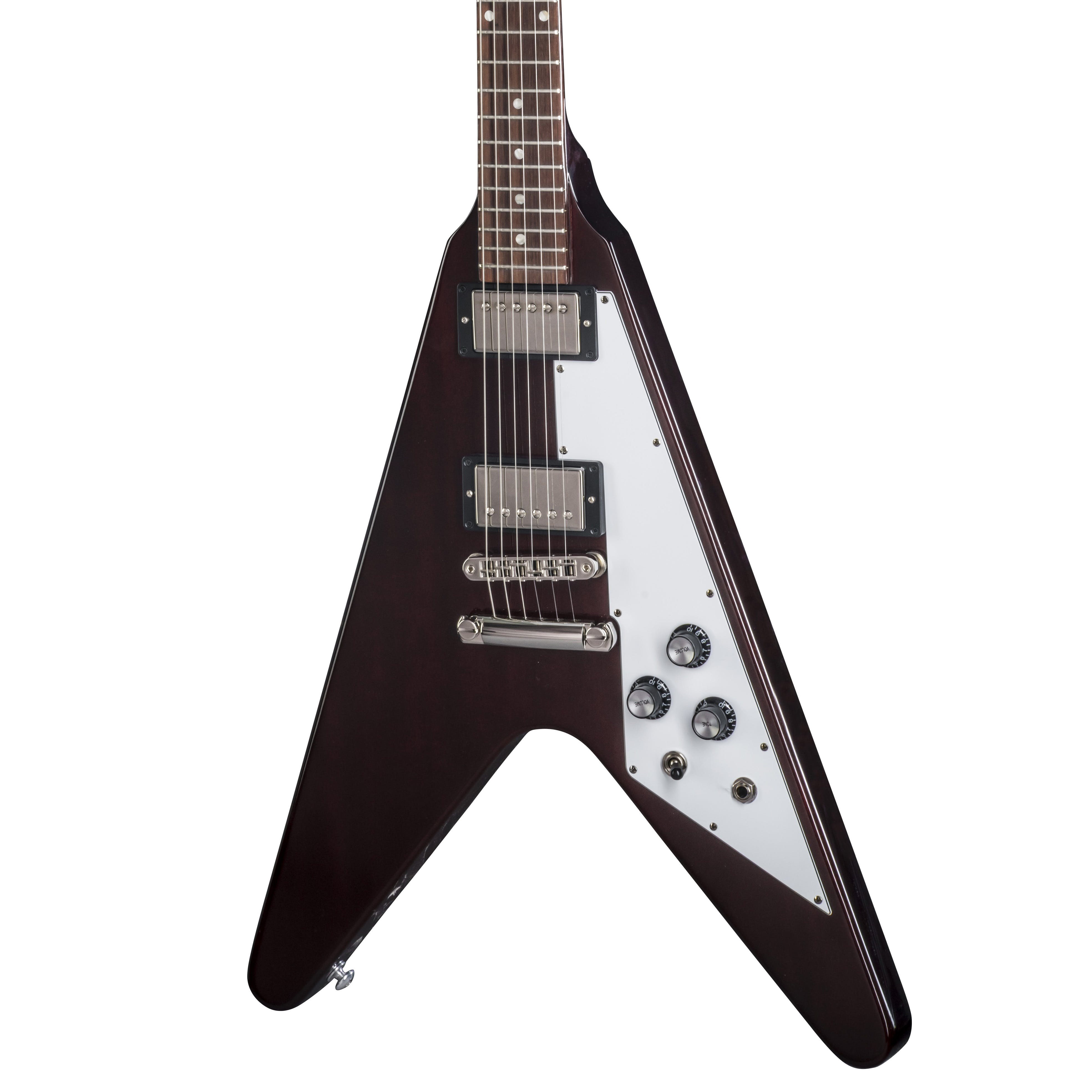 Gibson Usa 2018 Flying V In Aged Cherry Andertons Music Co 500t Super Ceramic Bridge Humbucker Electric Guitar Pickup