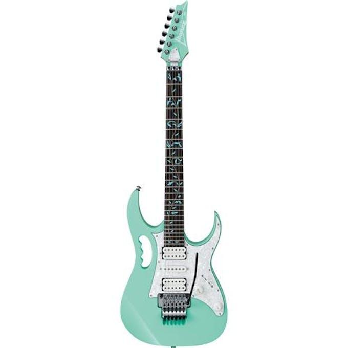 Ibanez Jem70v Jem Electric Guitar In Sea Foam Green Andertons