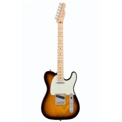 Fender American Professional Tele MN 2 Tone Sunburst Ash Body