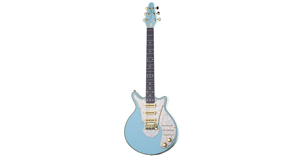 brian may signature guitar in baby blue andertons music co. Black Bedroom Furniture Sets. Home Design Ideas