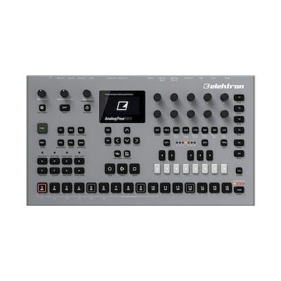 Elektron Analog Four MKII - 4-Voice Polyphonic Tabletop Synth