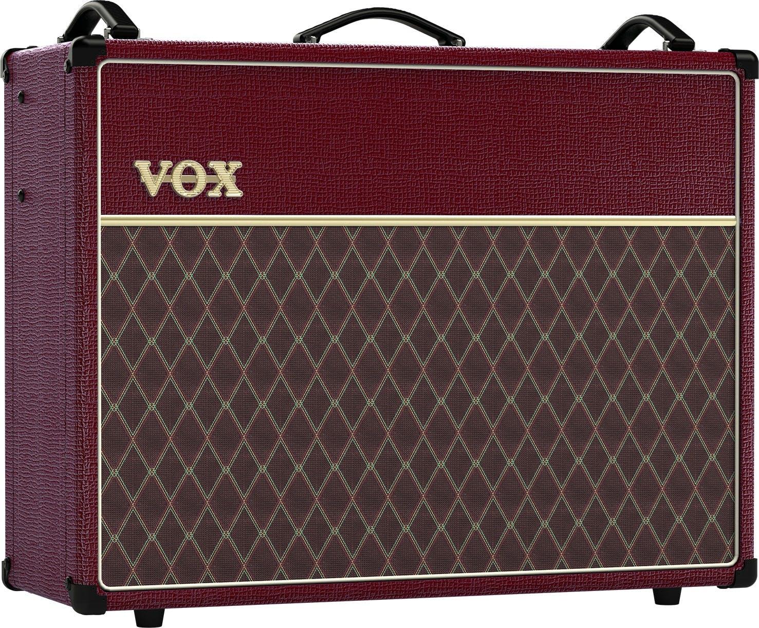 ac30. vox ac30 custom amp in maroon bronco ac30 a