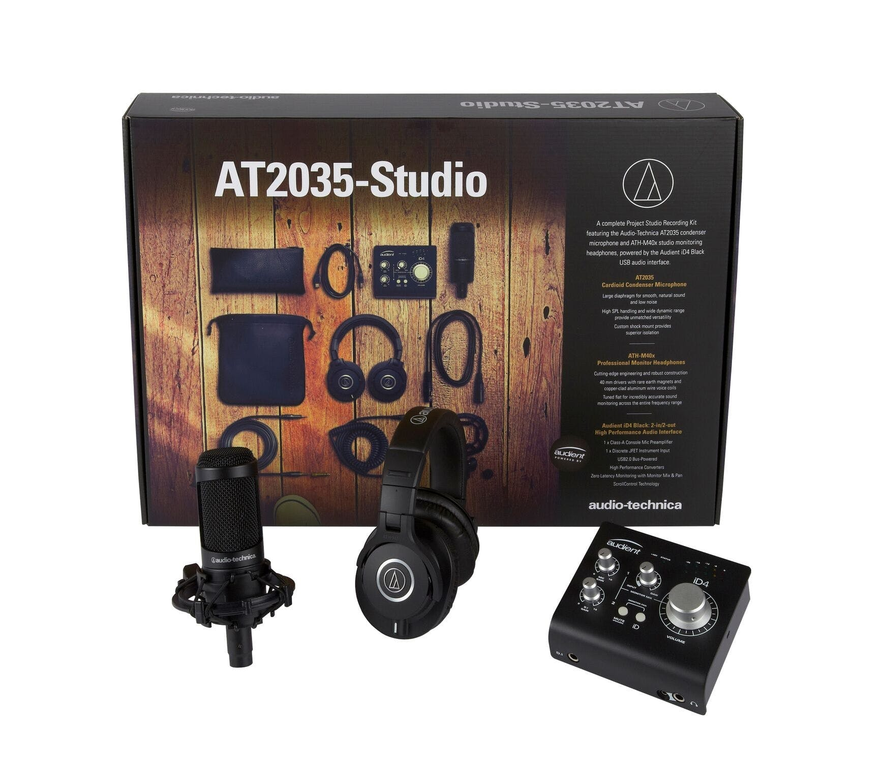 Audio Technica AT2035 Studio Bundle - Andertons Music Co