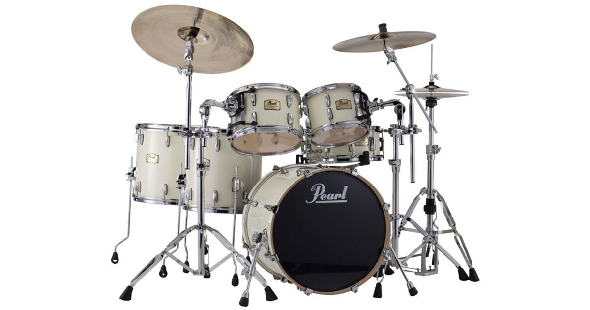 Pearl reference shell pack in ivory pearl 10x8 12x9 for 16 x 12 floor tom