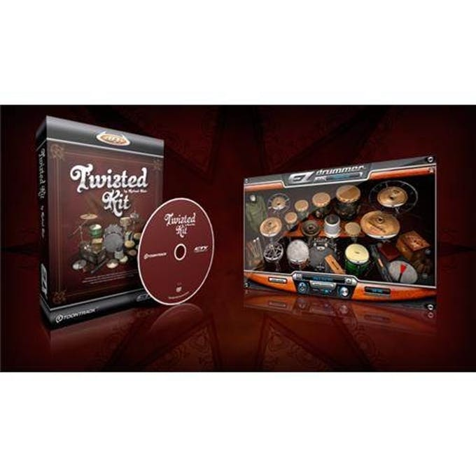 Toontrack EZX: Twisted Kit EDUCATION for Students and Teachers - Andertons  Music Co