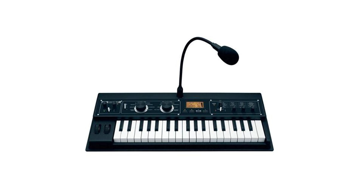 korg microkorg xl plus synthesizer andertons music co. Black Bedroom Furniture Sets. Home Design Ideas