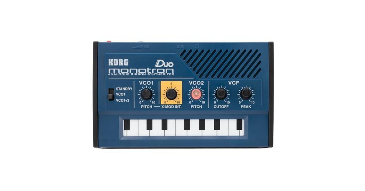 Korg Monotron Duo Analogue Ribbon Synthesizer - Andertons Music Co