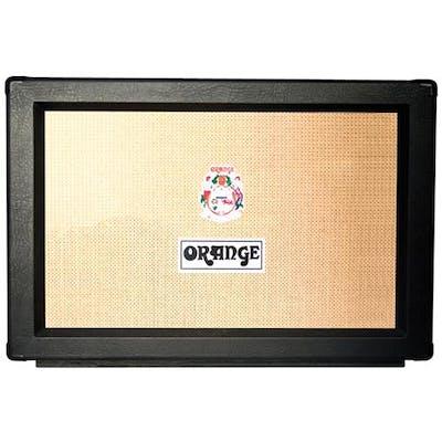 Orange PPC212 2x12 Closed Back Cabinet in Black