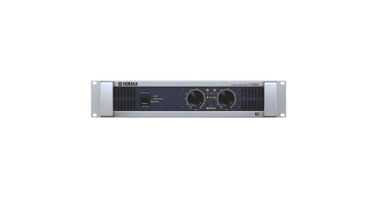 Yamaha P7000S Power Amplifier - Andertons Music Co