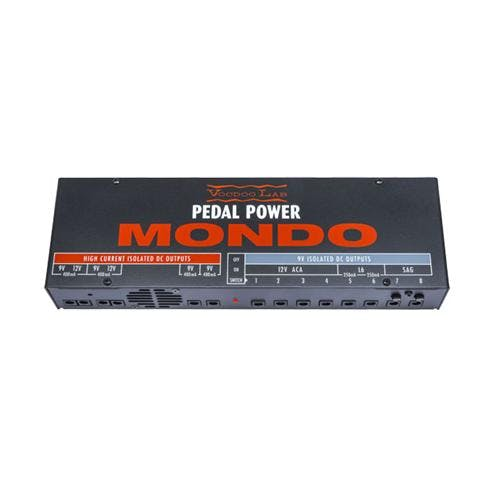 pedal power supplies andertons music covoodoo lab pedal power mondo power supply