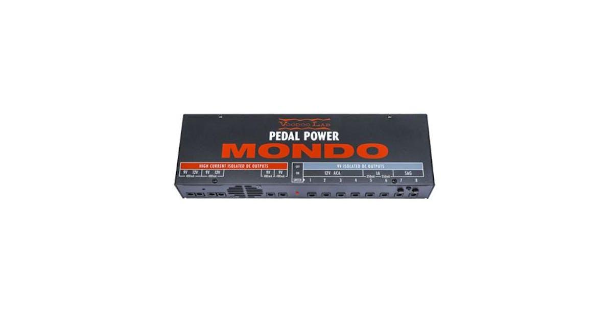 Voodoo Lab Pedal Power Mondo Power Supply - Andertons Music Co