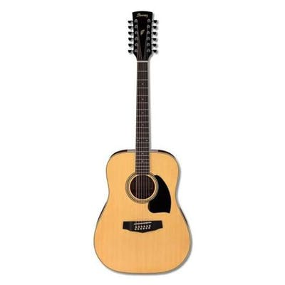 Ibanez PF1512 12 String Acoustic Guitar in Natural