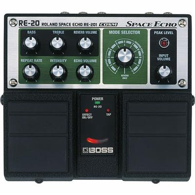 Boss RE-20 Space Echo Guitar Effects Pedal