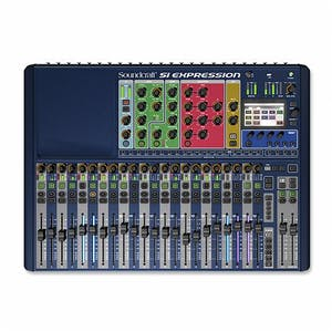 Soundcraft Si Expression 1 Live Sound Mixer - Andertons Music Co