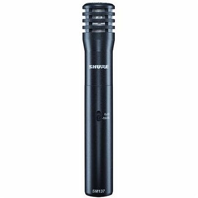 Shure SM137 Cardioid Instrument Mic