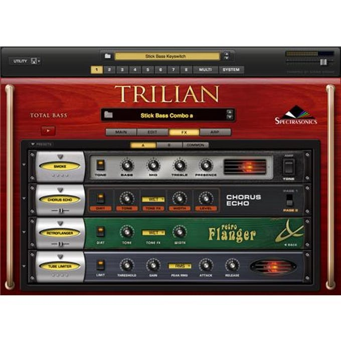 Spectrasonics Trilian Bass Virtual Instrument - Andertons Music Co