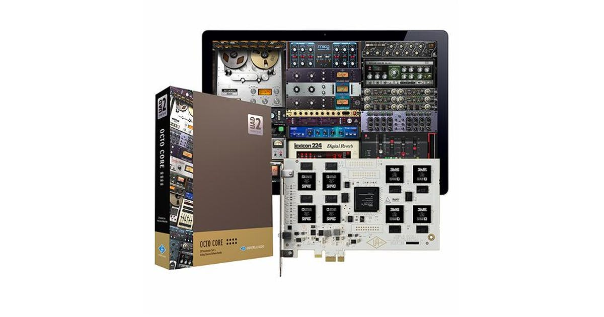 Universal Audio PCIe UAD-2 Octo Core Package - Andertons Music Co