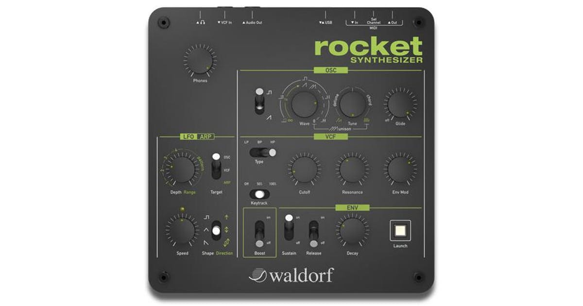 Waldorf Rocket Mini Synthesizer - Andertons Music Co