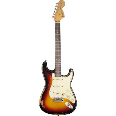Fender Custom Michael Landau 1968 Relic Strat in 3 Tone Sunburst