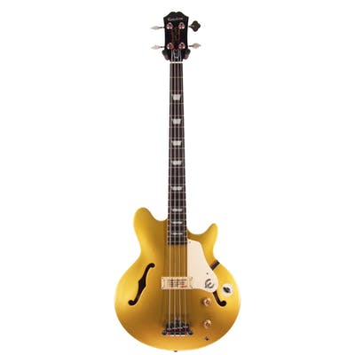 Epiphone Jack Casady Bass in Metallic Gold