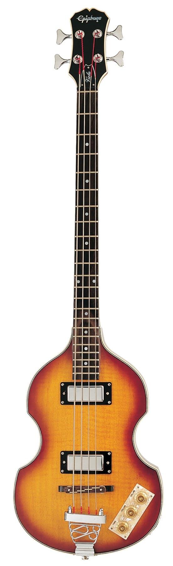Fine Epiphone Viola Bass In Vintage Sunburst Andertons Music Co Wiring Digital Resources Honesemecshebarightsorg
