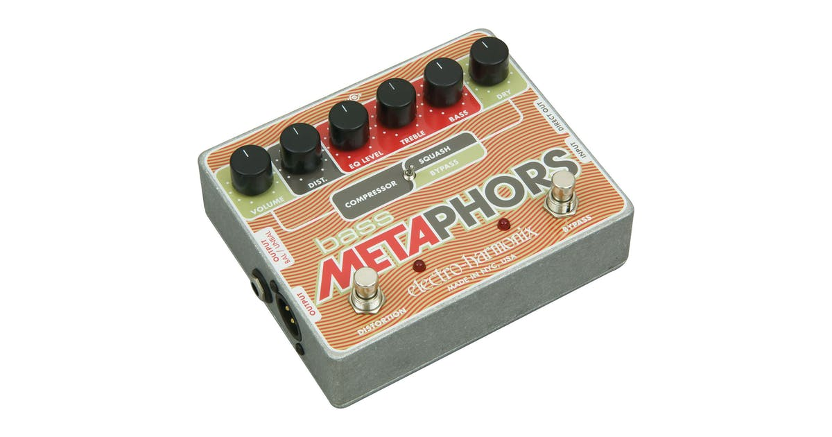 electro harmonix bass metaphors pedal andertons music co. Black Bedroom Furniture Sets. Home Design Ideas