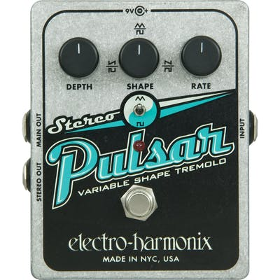 Electro Harmonix Stereo Pulsar Tremolo Pedal
