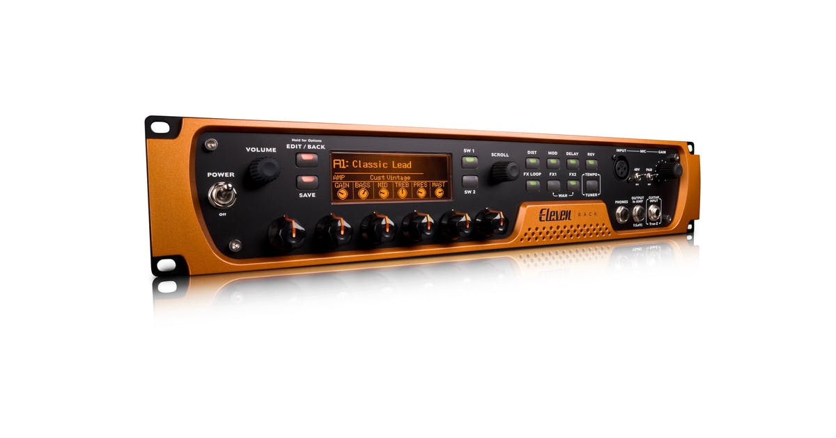 Avid Eleven Rack Effects Processor And Audio Interface
