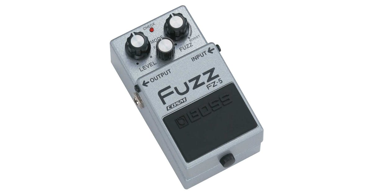 boss fz 5 fuzz pedal compact pedal andertons music co. Black Bedroom Furniture Sets. Home Design Ideas