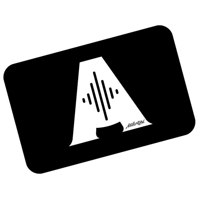 Andertons E-Gift Vouchers - £10