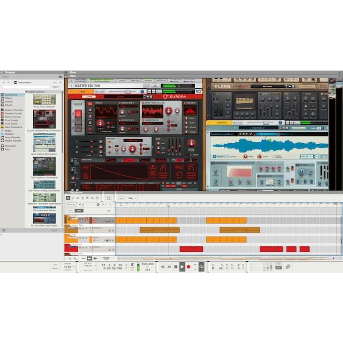 Propellerhead Reason 10 Upgrade - Andertons Music Co
