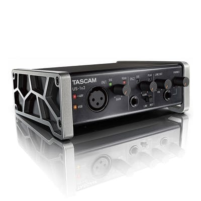 Tascam US1x2 1-In / 2-Out USB Audio Interface