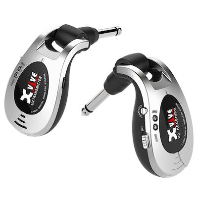 Xvive Wireless Guitar System in Silver