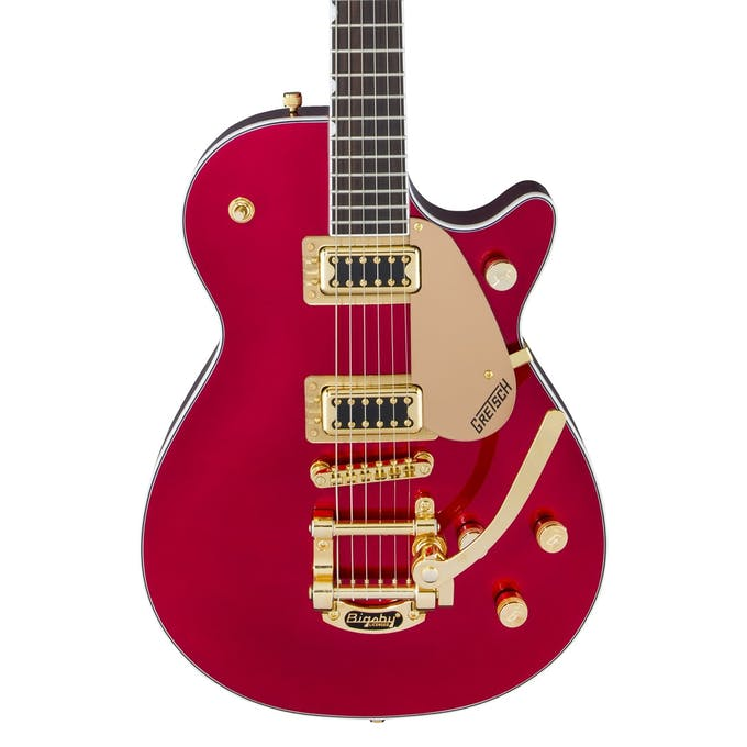 Gretsch G5435TG-CAR-LTD Electromatic Pro Jet, Candy Apple Red with Gold Hardware