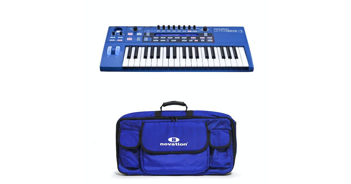 Novation UltraNova Analogue Modelling Synthesizer Bundle with Novation  Carry Case - Andertons Music Co