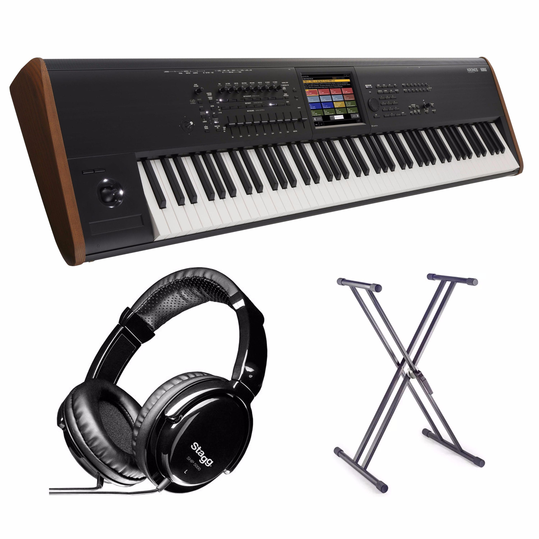 Korg Kronos 2 88 Bundle w/ Stand & Headphones - Andertons Music Co