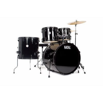 Natal Evo Fusion Full Starter Kit w/ hardware, throne, cymbals