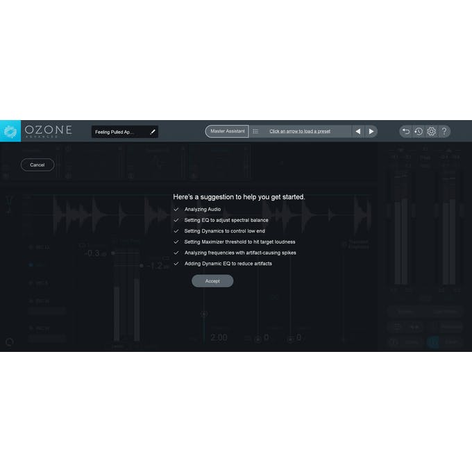 iZotope Ozone 8 Advanced - ESD - Andertons Music Co