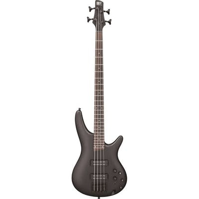 Ibanez SR300EB-WK SRBASS 4 string Maple Body Withered Black Bundle w/ Amp & Acc.
