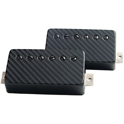 Bare Knuckle Ragnarok 6 String Humbucker Set with Carbon Fibre Covers