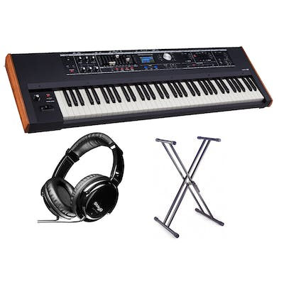 Roland VR-730 73 Note Performance Keyboard w/ Headphones and Stand -  Andertons Music Co