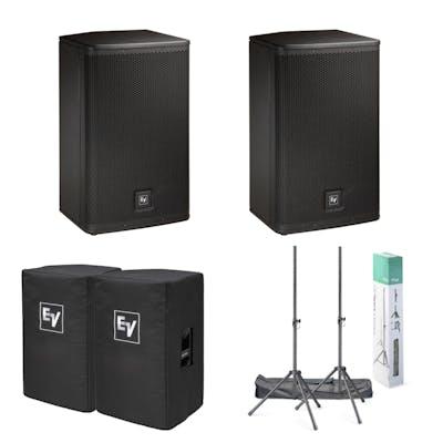 Electro Voice EV ELX112P PA Bundle