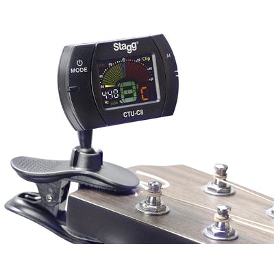 Stagg CTU-C8 Automatic Chromatic Clip-On Tuner