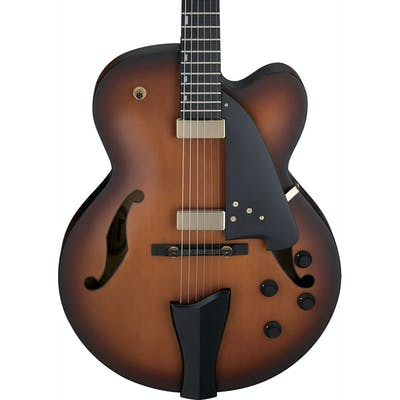 Ibanez AFC95 Contemporary Archtop in Violin Matte
