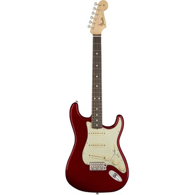 Fender American Original 60s Strat Rosewood board In Candy Apple Red