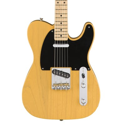 Fender American Original 50s Tele Maple Neck In Butterscotch Blonde