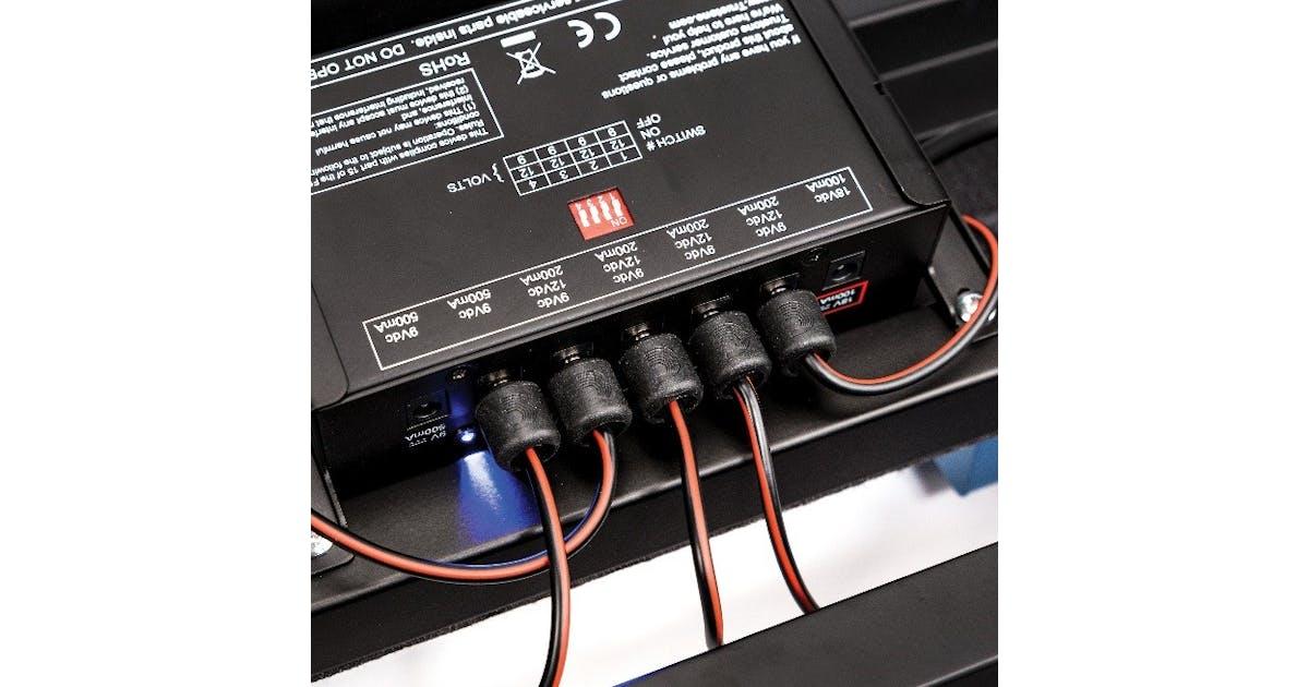 d 39 addario diy solderless pedalboard power cable kit andertons music co. Black Bedroom Furniture Sets. Home Design Ideas